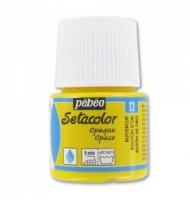 Colore per tessuto Pebeo Setacolor Opaque numero 13 (giallo oro)