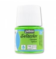 Colore per tessuto Pebeo Setacolor Opaque numero 24 (verde primavera)