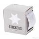 60 stickers stella 2 in 1 (35 e 16 mm) argento