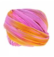 Seta shibori 10 cm Purple passion borealis