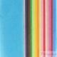 Set 20 fogli carta di seta multicolori