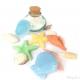 stampo per sapone 6 soggetti marini