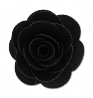 Spilla fiore bordeaux 65 mm