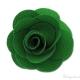 Spilla fiore verde 65 mm