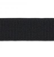 nastro elastico a grana grossa 36 mm x 1 metro nero