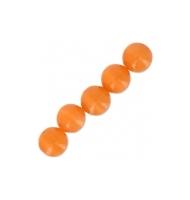 10 occhi di gatto tondi 8 mm arancio