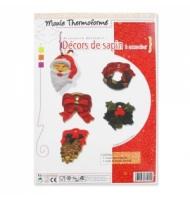 stampo decorazioni natalizie 5 temi